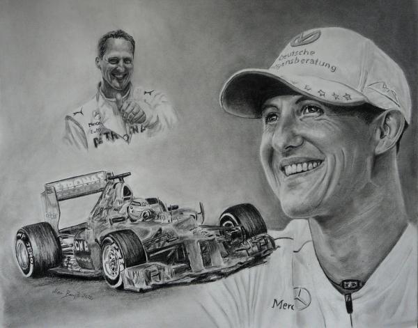 Michael Schumacher par Mobee219